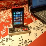 NES Controller iPhone 3GS Dock