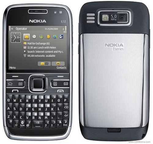 Nokia E72, slim and sleek