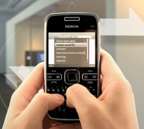 Nokia E72 promotional video leaked