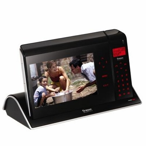 Oregon Scientific Photo-Touch Phone with 7″ LCD Display