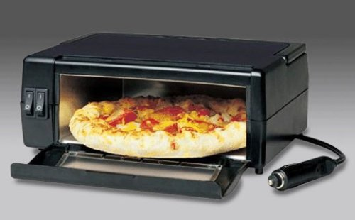 In-car pizza oven