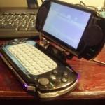 DIY PSP laptop mod