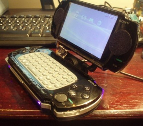DIY PSP laptop