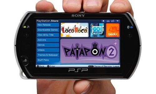 Sony hints at non-game apps for PSP