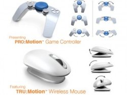 Smartfish Tru:Motion Wireless Mouse and Pro:Motion Game Controller