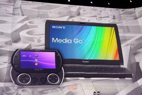 Sony's Media Go app store