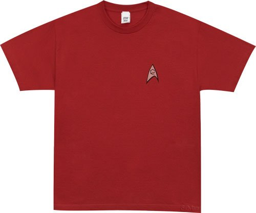 Win a Star Trek Engineering Uniform T-shirt