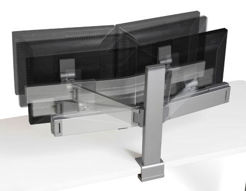steelcase14inlcdarm-sb