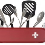 All your kitchen cutlery in the Swissarmius