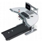 Steelcase Sit-to-Walkstation With Built-In Treadmill