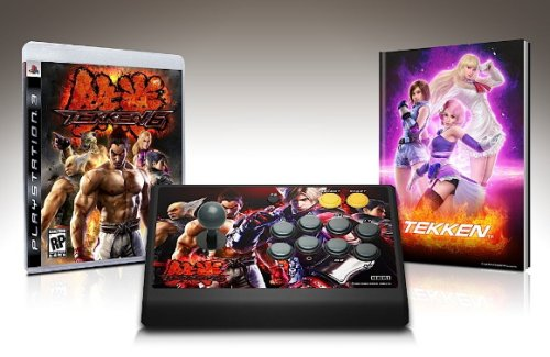 Tekken 6 wireless arcade sticks revealed