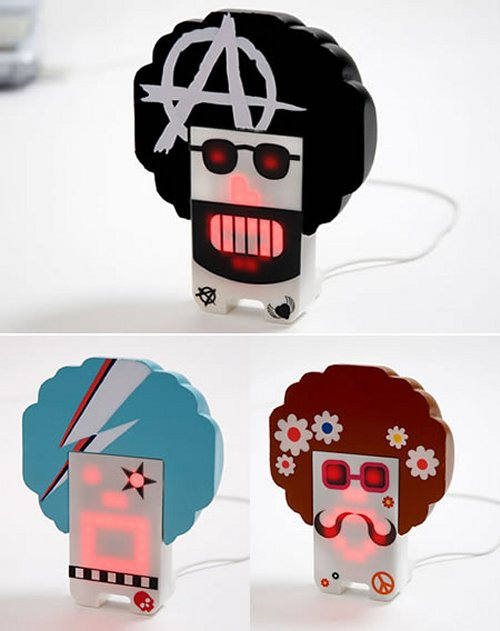 Tengu Allstars: Little USB people rocking the afro