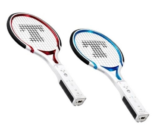 Thrustmaster's tennis duo pack for Wii