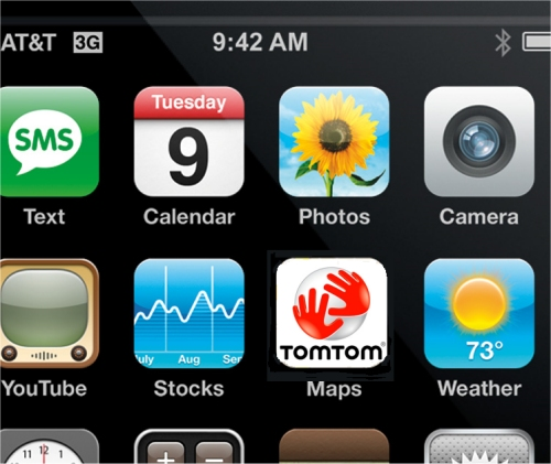 TomTom teaming with Apple for iPhone navigation app
