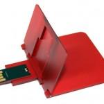 Credit card size wallet USB drive debuts