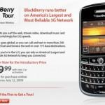 Verizon's BlackBerry Tour coming July 12th, pre-order now