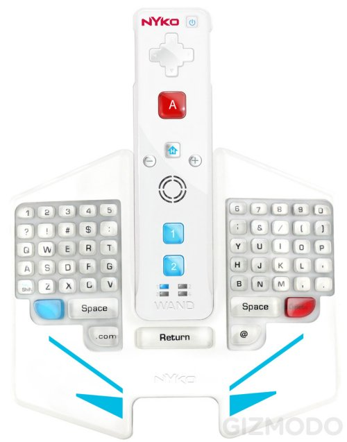 Nyko Type Pad Pro brings QWERTY to the Wii