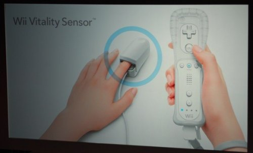 Nintendo reveals heart-tracking Wii Vitality Sensor