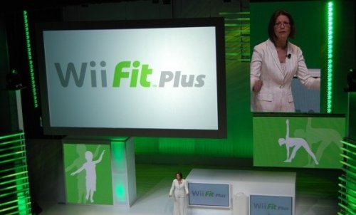 Wii Fit Plus for fall, lets you play Mario-type games