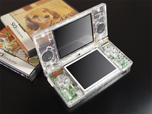 XCM Eye-Candy Crystal Clear Shell For The DSi