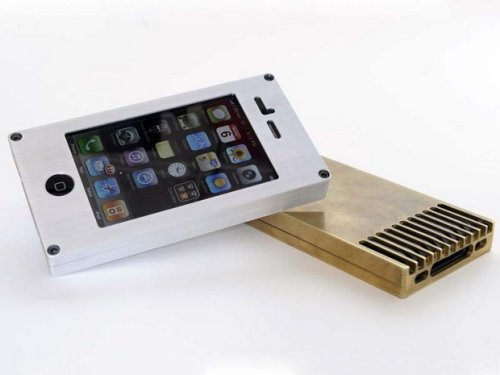 EXOvault case puts your iPhone in a steel vault