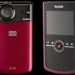 Kodak Zi8 with 1080p, Image Stabilizer and SD Slot