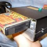 Homemade portable 8-Track player