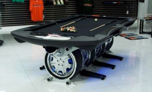 Unique Autosports pool table