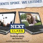 Best Buy announces exclusive Next Class laptop line