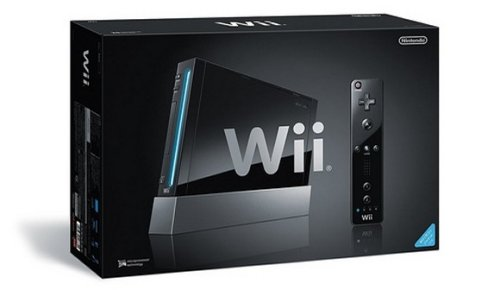 Black Wii has a black box