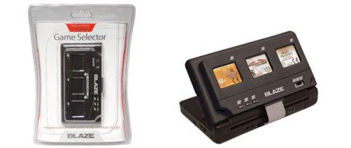Blaze 3-in-1 selector: Switch between Nintendo DS Lite games