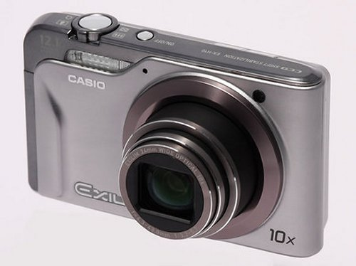 Casio Exilim EX-H10 takes 1000 shots on a single charge