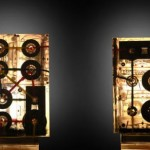 Cassette tape lamps
