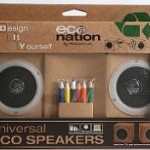 DIY Eco Speakers let you decorate and customize