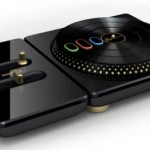 DJ Hero premium edition turntable and DJ stand