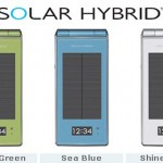 DoCoMo SH-08A Solar Hybrid Phone