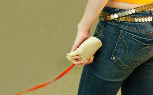 Creepy Hand Leash for lonely dog-walkers
