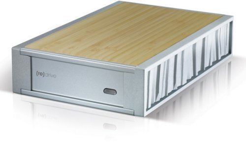 Simpletech [re]drive external hard drive uses bamboo to stay cool