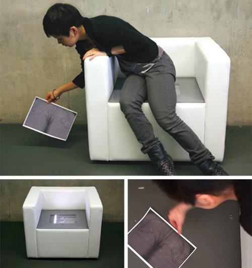 iBum Chair brings office fun home