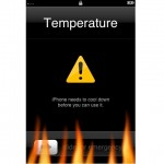 Apple warns of overheating iPhones