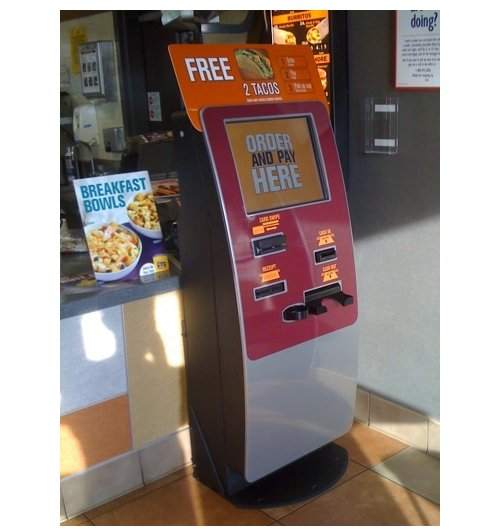 New Jack In The Box order kiosk removes humans from the equation