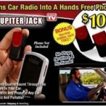 Jupiter Jack turns car stereo into hands free kit