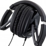 JVC black series foldable headphones