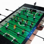 LEGO coffee table foosball