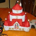 N64 casemod of Princess Peach's castle