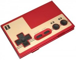 NES controller business card holder