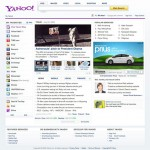 Yahoo unveils new home page in U.S. beta