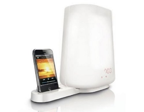 Philips Wake-up Light Alarm HF3490 with iPod dock