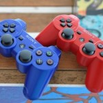 Red and blue DualShock 3 controllers arrive in October