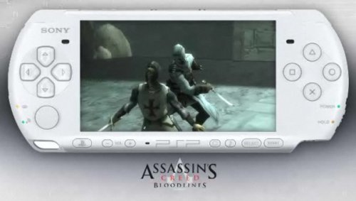 White PSP Assasin's Creed Bloodlines bundle, $199